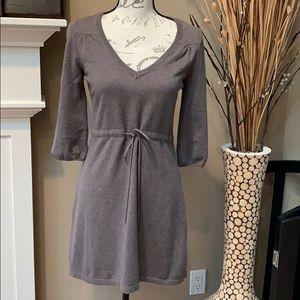 Gap Taupe Mini Dress/Long Sweater Size S